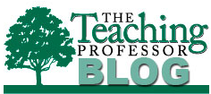 Logo for the Teaching Professor blog