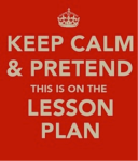 Keep Calm Lesson Plan