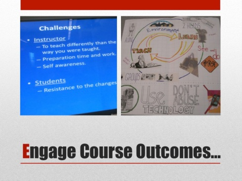 6 Engage course outcomes