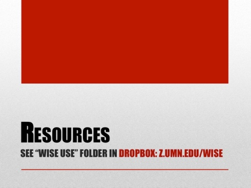 9 Resources