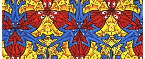 From Escher in the Classroom, Polygons and Tessellations: http://britton.disted.camosun.bc.ca/jbescher2.htm