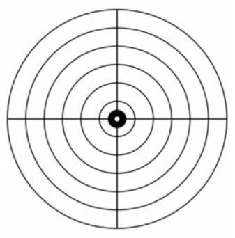 Image of target shooting bullseye