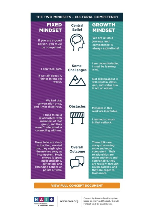 Cultural Competence & Growth Mindset