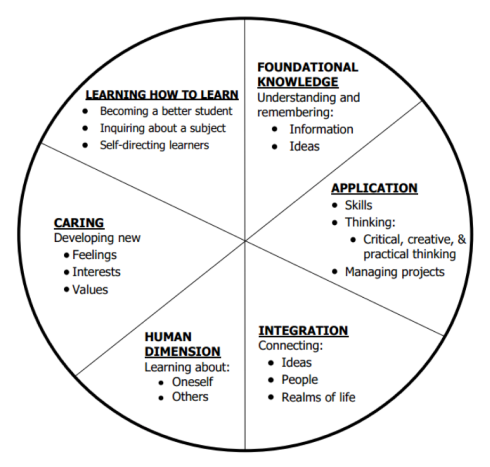 Fink significant learning wheel